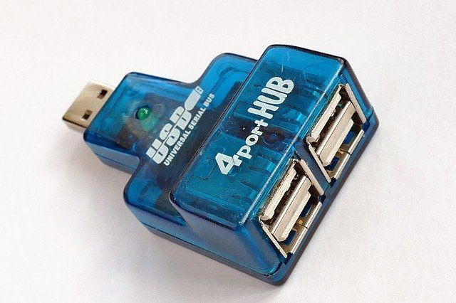 Concentrador USB