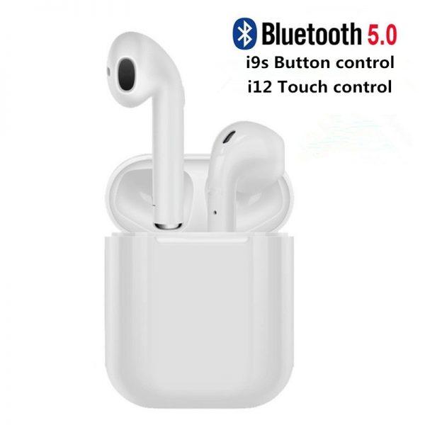Auriculares Bluetooth I12 TWS I9s